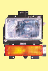 HL-307-8E HL-307-8E Sub Assay head lamp with motor for leyland