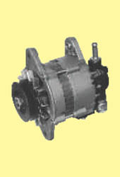 Alternator with Vaccum Pump for Mahindra M50 jeep